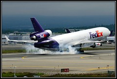 N602FE FedEx - Federal Express (Bob Garrard) Tags: express douglas fedex anc federal md11 mcdonnell md11f panc n602fe