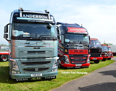 Alex Anderson - Volvo FH13 Globetrotter XL 500, Volvo F88 & Volvo F86 (Yorkshire Truck Photography) Tags: alex volvo anderson peterborough 2014 truckfest