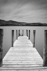 Ashness Jetty (Danny Birrell) Tags: wood longexposure sky lake texture water clouds canon landscape movement jetty lakedistrict calm canon2870 canon5dmkii