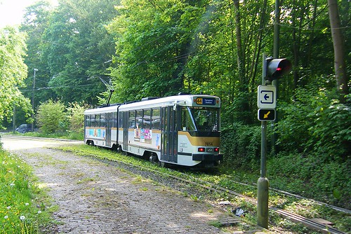 Brussels tram No. 7814