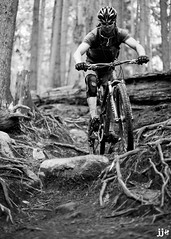 Rooty (Jeremy J Saunders) Tags: trees nature bike sport forest outdoors ride mountainbike roots trail jjs d800 jeremyjsaunders