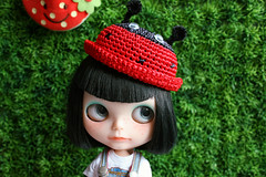 Beetle Straw Hat