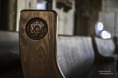 Star of David (Tony Lau Photographic Art) Tags: old school chicago religion synagogue tony il uptown jewish jews lau 2014 chicagoist canoneos7d agudasachimnorthshorecongregation