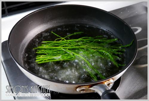 蟹肉蘆筍花蒟蒻麵06