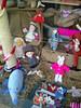 rabbit pink coat (vw4y) Tags: wool knitting knitted marketstreet newtown pinkbunny woolshop