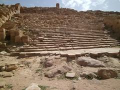 Stairs, ruins at Petra, Jordan (LarrynJill) Tags: travel vacation stairs ruins petra steps middleeast jordan 2014