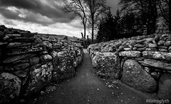 Inside the Clava Cairn (Wheatley Images) Tags: blackandwhite bw white black monochromatic
