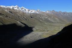 Quebrada Huanacpatay, on the climb to Paso Jurau.