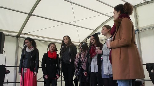 GIRLS CHOIR AT AFRICA DAY
