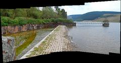 Drainage (beqi) Tags: panorama tower architecture stonework reservoir photoshoppery talla 2014