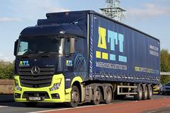 FG63 LJY ACTROS 2545 (Cumberland Patriot) Tags: england mercedes benz atl derbyshire transport ltd mb ascott mp4 actros 2545 foston of fg63ljy
