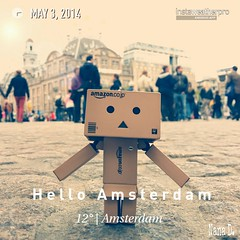 Hello from Amsterdam!! (Nana (◕‿‿◕。)) Tags: actionfigure yotsuba danbo revoltech danboard