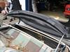 Mercedes SL W107 Montage beziehen von vorderspriegel