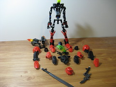 Furno Excelsia Break-Down (ExclusivelyPlastic) Tags: factory lego hero bionicle mech factoy