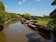 2014_05_0078 (petermit2) Tags: canal a1 canalboat doncaster a1m riverdon sprotbrough