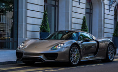 paris cars car canon photography grey gris flickr awesome super spot voiture spyder exotic porsche spotted expensive hybrid supercar spotting sportscar sportscars supercars streetcars 2014 918 d600 worldcars hypercars worldofcars