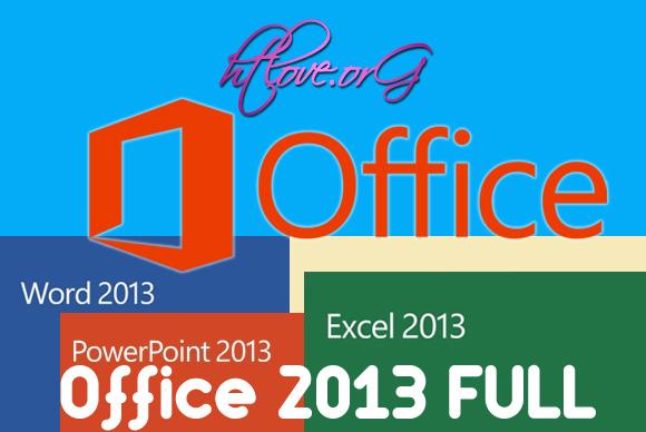 Bản Office 2013 Full tự động cài đặt không cần Crack