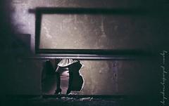 A brief glimpse the other side of the classroom (lyon photography) Tags: broken stockings wall hole legs classroom decay border through schoolgirl oldskool sidelight fashionphotographerlondon jameslyonphotography jamesalexanderlyon aleahleahdesigns