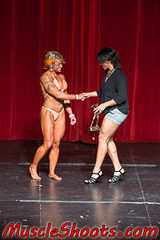 May 10 2014 - NPC Illinois State - Women (RickDrew) Tags: show red man illinois model women muscle stage contest ripped tan posing competition bodybuilding il npc bikini curtains strong strength workout fitness swimsuit built tanned 2014 may10 gatewaytheater copernicusfoundation
