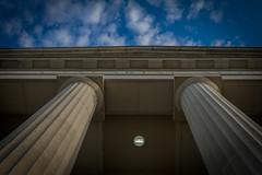 Raleigh Memorial Auditorium (3 of 1) (Mr_Samson) Tags: blue sky 1932 canon eos nc energy south arts northcarolina duke raleigh 7d carolina auditorium canonef28135mm canonlens street auditorium canoneos7d canon7d dukeenergymemorial dukeenergycenter27601east