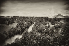 River Teith from Doune Castle HDR (DSM888) Tags: castle done hdr teith