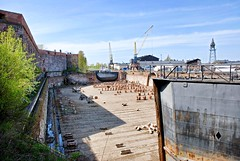 Dry dock (Sameli) Tags: sea suomi finland dock helsinki dry fortress suomenllinna