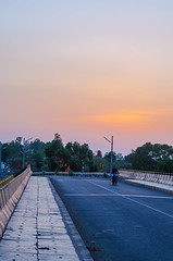 Serene, so serene scenery. (sandeshrawat) Tags: eve sun love temple photography dawn dusk path roads hue ways