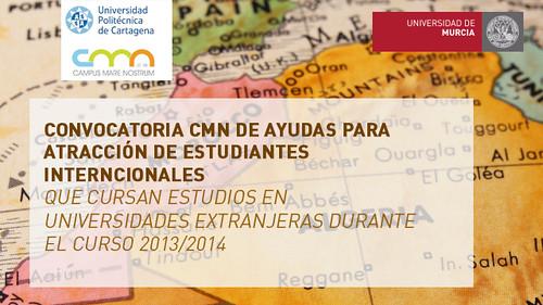 Convocatoria de atracción de estudiantes extranjeros