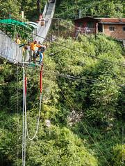 Банджи-джампинг в Непале