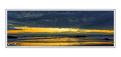 Going Back (Brett Huch Photography) Tags: ocean sea sky seascape reflection beach nature water sunrise reflections surf waves seascapes australia qld queensland aussie coolangatta snapperrocks wavesbreaking