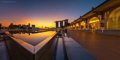 Geometric (rh89) Tags: city morning blue light urban panorama sun sunlight color colour reflection geometric water fountain pool lines architecture marina sunrise reflections dawn hotel bay twilight pond nikon singapore ray cityscape angle graphic pano wide shapes angles right panoramic 100mm architectural line sharp diagonal foundation filter lee hour nd rays 12 nikkor sands shape filters grad fullerton leading holder graduated density 18mm 1835 neutral d600 gnd 1835mm 1835g
