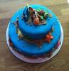 Disney Finding Nemo cake (Cupcakes & Dreams) Tags: birthday cake nemo clownfish dory findingnemo fondant justkeepswimming