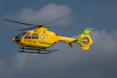 Air Ambulance G-CIDJ (Explored #170 31/05/2014) (John Ambler) Tags: helicopter ec135 airambulance helimed johnambler hampshireisleofwight gcidj