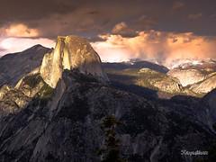 Half Dome (Motographer) Tags: california sunset usa colors clouds landscape colorful olympus yosemite halfdome omd em1 motographer mzuiko 1240mmf28pro fotografikartz motograffer