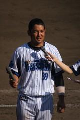 DSC05297 (shi.k) Tags: 横浜ベイスターズ 140601 嶺井博希 イースタンリーグ 平塚球場