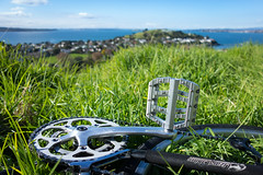My Life, My Passion, My Vice. (ibikenz) Tags: bike bicycle auckland surly pedal northhead devonport mtvictoria crosscheck sram sugino waitemataharbour rx100 compactdouble pc991 sonycybershotdscrx100 silvervice vpvice