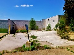 Old Rolling Acres Receiving Area (Nicholas Eckhart) Tags: ohio usa abandoned retail america mall dead us closed empty vacant oh stores akron 2014 shuttered deadmall rollingacres romigroad