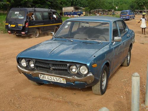 C. 1975 Datsun Violet 140J 710