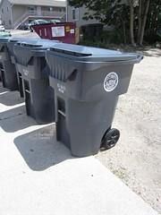 City of La Crosse Trash Cart (TheTransitCamera) Tags: wisconsin trash la barrel can bin waste cart refuse recycle crosse rehrig