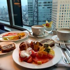 Tokyo, Japan (LAXFlyer) Tags: food japan hotel tokyo lounge hilton executive conrad executivelounge honrs hiltonhhonors hhonors