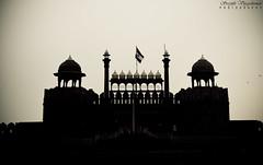 Red Fort, Delhi (Sreejith Vijayakumar) Tags: india architecture yahoo blackwhite unescoworldheritagesite utata newdelhi mughal travelphotography chandinichowk incredibleindia nikond5100