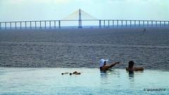 The Rio Negro Bridge (Liv ) Tags: brasil amazon manaus brasile amazonas 2014 rionegro amazzonia iranduba laivphoto brasil2014 therionegrobridge riverrionegro