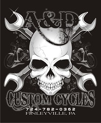"A & D Custom Cycles - Finleyville, PA • <a style=""font-size:0.8em;"" href=""http://www.flickr.com/photos/39998102@N07/14441157977/"" target=""_blank"">View on Flickr</a>"