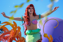 Soundsational - Ariel (Visions Fantastic) Tags: ariel disneyland disney thelittlemermaid soundsational mickeyssoundsationalparade