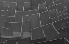 BIG Maze at the National Building Museum (Mark Alan Andre) Tags: white black building museum dc washington big national maze ingels bjarke