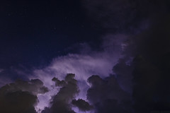 Thunderstorms [06.18.14] (Andrew H Wagner | AHWagner Photo) Tags: longexposure sky night clouds 35mm canon stars eos nightscape f14 nighttime astrophotog