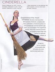 2014-2015 Ballet Theatre of Maryland - Cinderella (maskirovka77) Tags: ballet season ballerina nutcracker cinderella brochure carmen innovations btm ballettheatreofmaryland 20142015