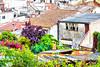 Can Jepet (Albertf150) Tags: mar cel panoramica urbana canet canetdemar poble nubols
