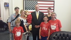 Meeting with Congressman Kildee