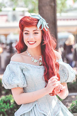 Ariel (dolewhip) Tags: ariel disneyland character disney thelittlemermaid princessariel facecharacter